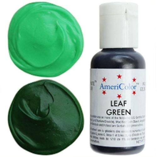 Гелевая краска AmeriColor Зеленый лист, 21 гр