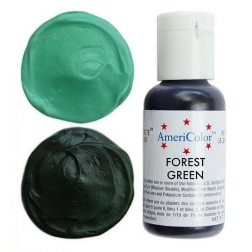 Гелевая краска AmeriColor Зеленый лес, 21 гр