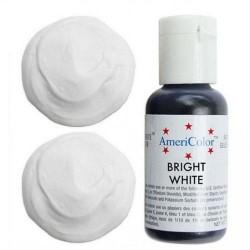 Гелевая краска AmeriColor Ярко белый, 21 гр