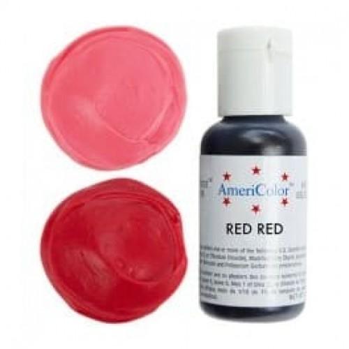 Гелевая краска AmeriColor Яркий красный, 21 гр