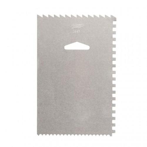 Скребок металлический Ateco 15*10 см