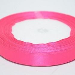 Лента атласная ярко-розовая 1.2 см
