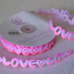 Лента декоративная Love, рулон