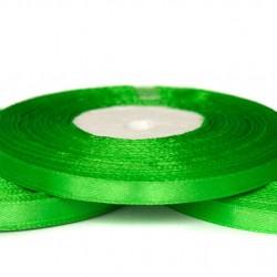 Лента атласная зеленая 0,6 см
