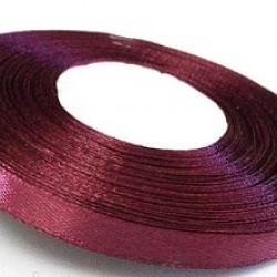 Лента атласная марсала 0,6 см