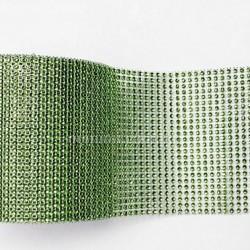 Лента с имитацией камней зеленая, 1 м