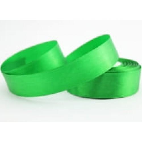 Лента атласная зеленая 2,5 см
