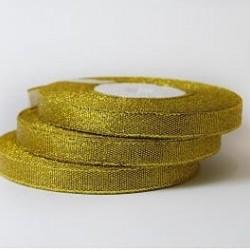 Лента парча Золото 1,2 см