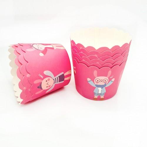 Бумажные формы-стаканчики усиленные №5 6 шт (5х4 см)