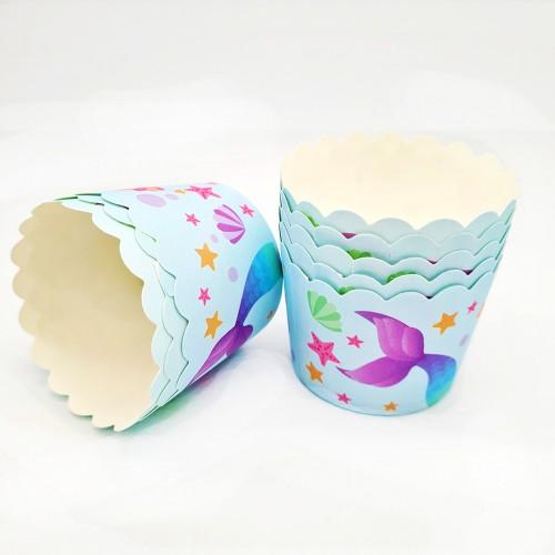Бумажные формы-стаканчики усиленные №1 6 шт (5х4 см)