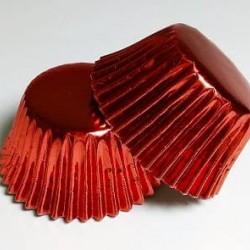 Бумажные формы красные МИНИ для конфет, 25 шт