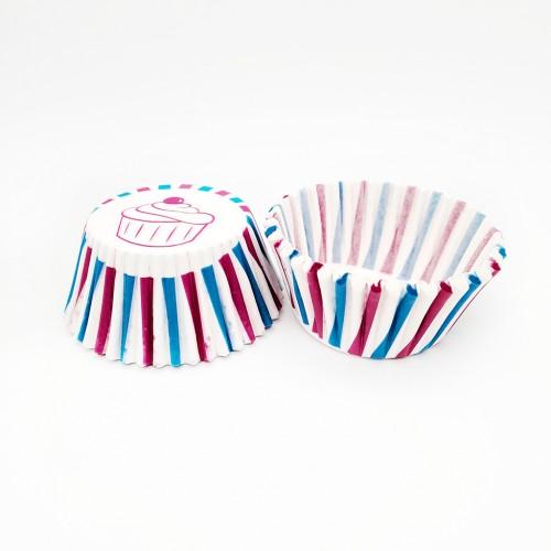 Бумажные формы Радуга #4 100 шт