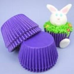 Бумажные формы фиолетовые, 50 шт.