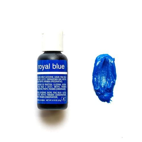 Гелевый краситель Chefmaster Royal Blue/Королевский синий, 20 г