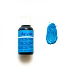 Гелевый краситель Chefmaster Sky Blue/Небесный голубой, 20 г