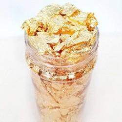 Пищевое золото в баночке