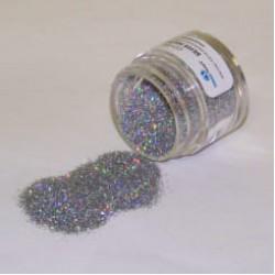 Блёстки Hologram Silver (голограммные серебряные) 5 г