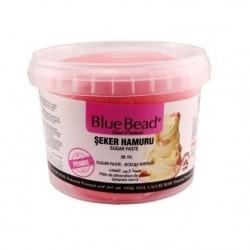 Сахарная мастика Blue Bead розовая, 500 г  (развес)