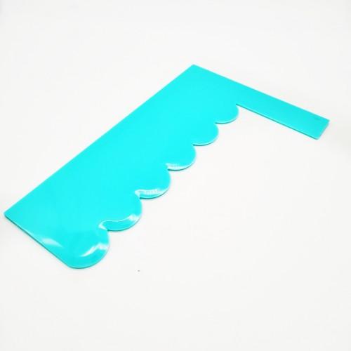 Скребок-шпатель фигурный 2, 18,5*12 см