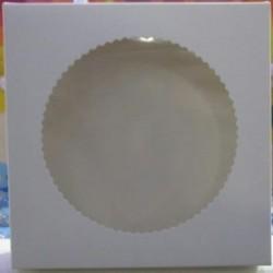 Коробка для пряников с окошком, 20*20*3 см