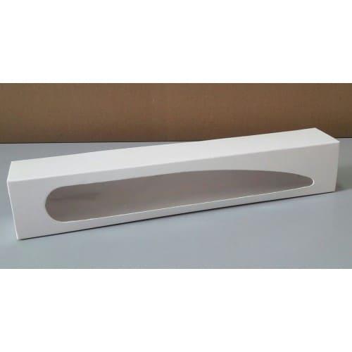 Коробка для 10 макаронс с окошком