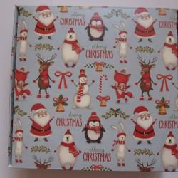 Коробка для пряников новогодняя 15*15*5