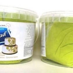 Сахарная мастика Blue Bead салатовая, 500 г (развес)