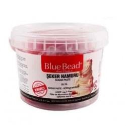 Сахарная мастика Blue Bead красная, 500 г (развес)