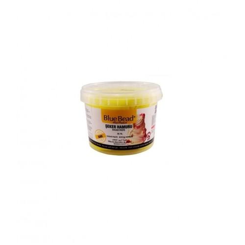 Сахарная мастика Blue Bead желтая 500 г (развес)