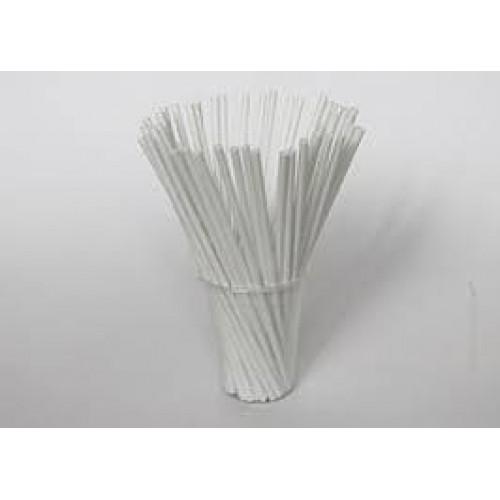 Палочки для кейк-попсов пластиковые белые, 50 шт