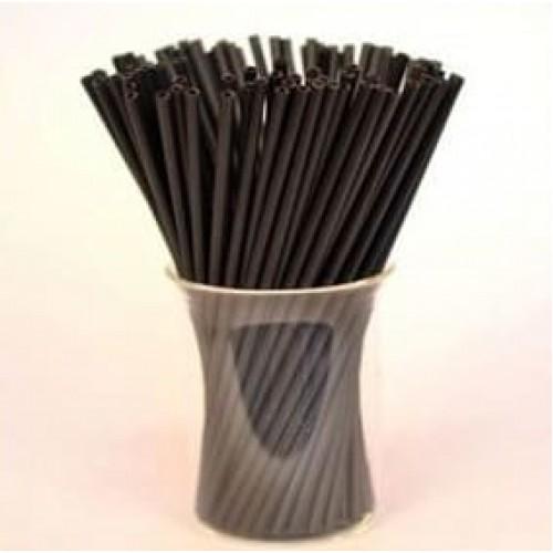 Палочки для кейк-попсов пластиковые черные, 50 шт