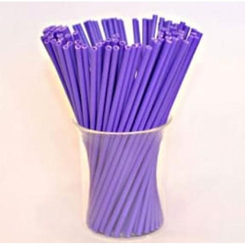 Палочки для кейк-попсов пластиковые ФИОЛЕТОВЫЕ, 50 шт