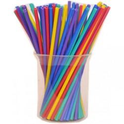 Палочки для кейк-попсов пластиковые разноцветные, 50 шт