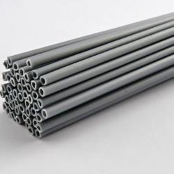 Палочки для кейк-попсов пластиковые серебряные, 50 шт