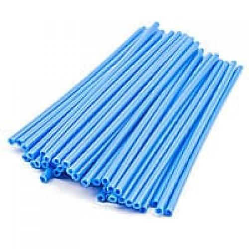 Палочки для кейк-попсов пластиковые синие, 50 шт