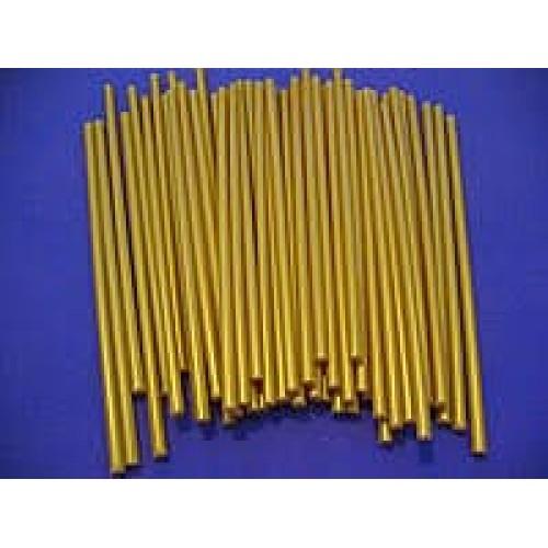 Палочки для кейк-попсов пластиковые золотые, 50 шт