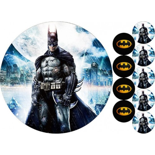 "Съедобная картинка ""Бэтмен"""