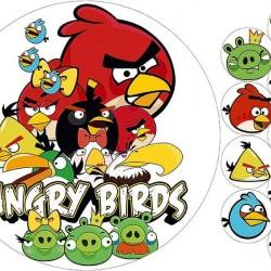 """Съедобная картинка """"Angry Birds"""""""