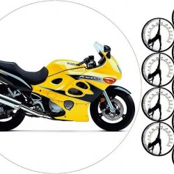 "Съедобная картинка ""Мотоцикл"" 1"