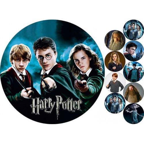 "Съедобная картинка ""Гарри Поттер"""