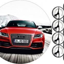 """Съедобная картинка """"Автомобиль Audi"""""""