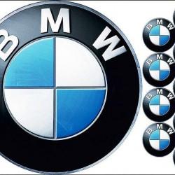 "Съедобная картинка ""Логотип BMW"""