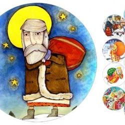 "Съедобная картинка ""Св. Николай"" 2"