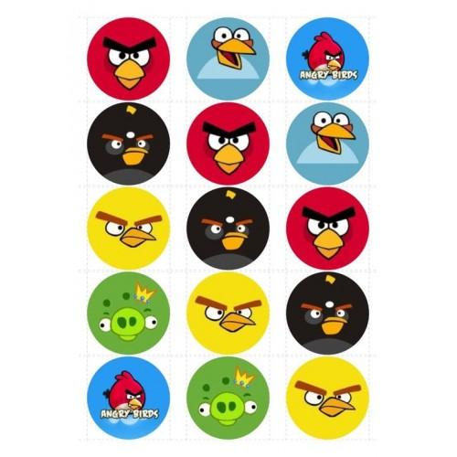 """Съедобная картинка """"Angry Birds"""" 3"""