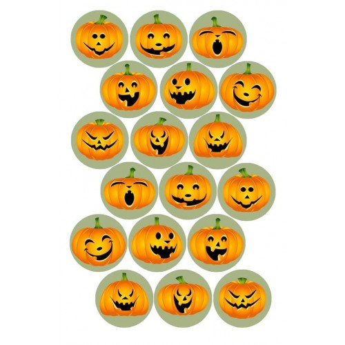 "Съедобная картинка ""Хеллоуин"" 9"