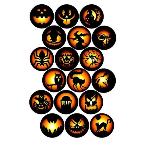 "Съедобная картинка ""Хеллоуин"" 8"