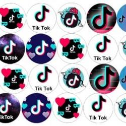 "Съедобная  картинка ""Tik Tok (Тик Ток)"" 3"