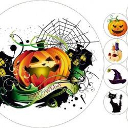 "Съедобная картинка ""Хеллоуин"" 4"