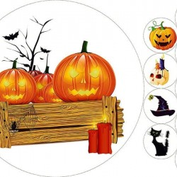 "Съедобная картинка ""Хеллоуин"" 2"
