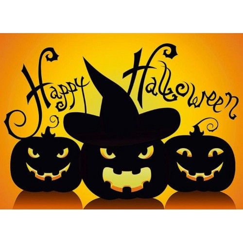 "Съедобная картинка ""Хеллоуин"" 3"